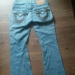 True Religion Joey Flare Mens Jeans size 31x32